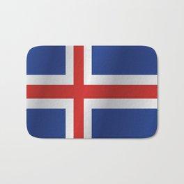 Flag of Iceland Bath Mat