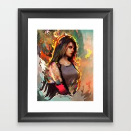 final fantasy Framed Art Print