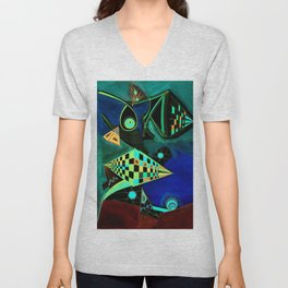 Riddle me this? MKii Unisex V-Neck