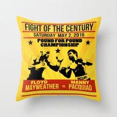 MayPac Throw Pillow