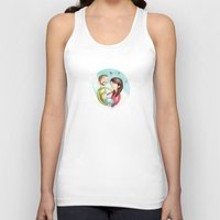 family Tank Tops featuring Family by Arianna Usai