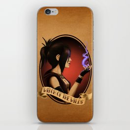 Witch of the Wilds iPhone Skin