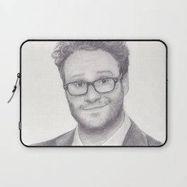 Seth Rogen Pencil drawing Laptop Sleeve