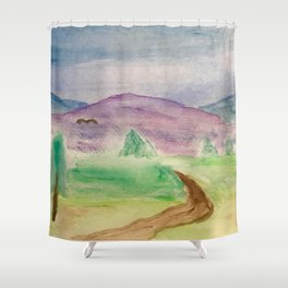 Road to Fantasy Land Shower Curtain