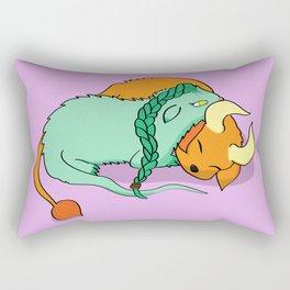 Dinku and Furret Rectangular Pillow