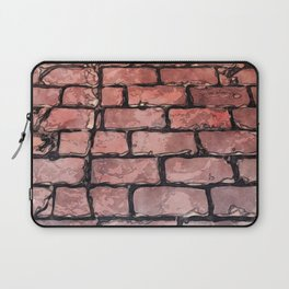 Vintage Brick Street Laptop Sleeve