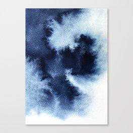 Indigo Nebula Canvas Print