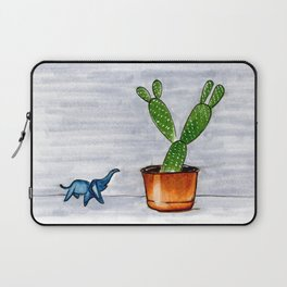 The Cactus & The Happy Elephant Laptop Sleeve