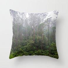 Rainforest. Throw Pillow