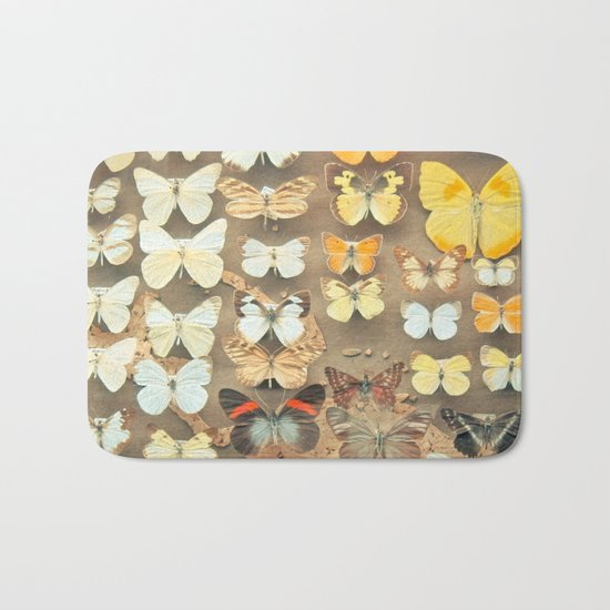The Butterfly Collection I Bath Mat