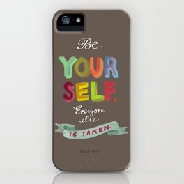 Smart People Say Smart Things iPhone Case