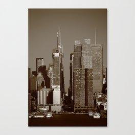 New York City Block 2012 Canvas Print
