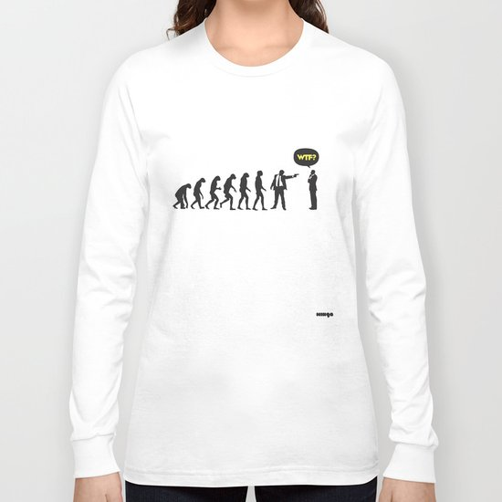 WTF? Evolution! Long Sleeve T-shirt