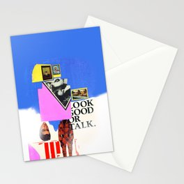 Look Good Or Talk Stationery Cards