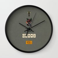 ghostbusters Wall Clocks featuring ghostbusters by avoid peril