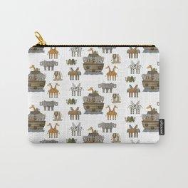 Primitive Noahs Ark Animals 2 Carry-All Pouch