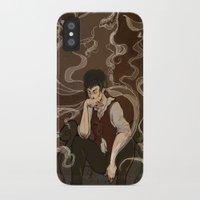 the hound iPhone & iPod Cases featuring Hound by Ellen Fox