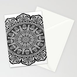 Lace Pattern Mandala Stationery Cards