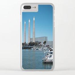 Morro Bay Clear iPhone Case