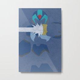 Megaman X  Metal Print