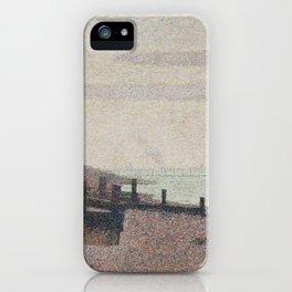 Evening, Honfleur iPhone Case