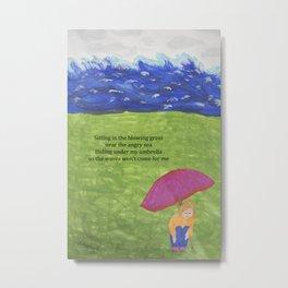 Sea of Anxiety Metal Print