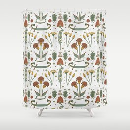 Luxury Ancient Egypt Art Shower Curtain