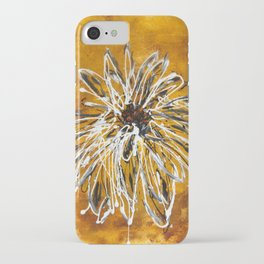 Anemone in Grey iPhone Case