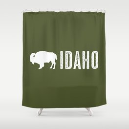 Bison: Idaho Shower Curtain