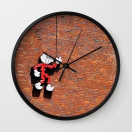 Reddy or Not Wall Clock