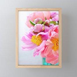 Peonies II Framed Mini Art Print