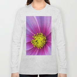 Pink Cosmos Long Sleeve T-shirt