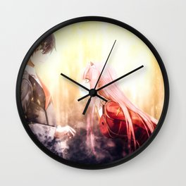 Darling in the Franxx   Hiro Wall Clock