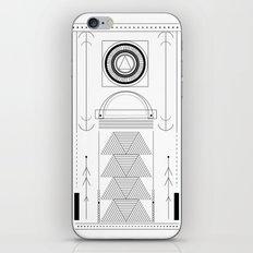 cirquit blank iPhone & iPod Skin
