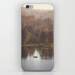 Little boat on the lake iPhone Skin