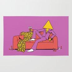 Love Triangle Rug