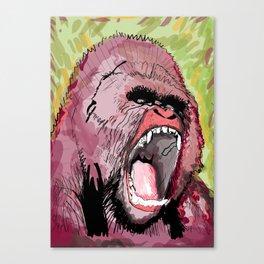 The gorilla  Canvas Print
