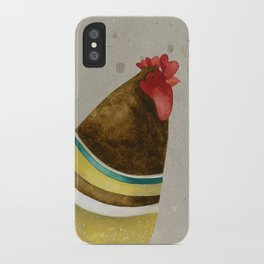 Rooster Willow iPhone Case