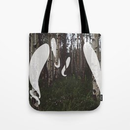 Ghosts In The Woods Tote Bag