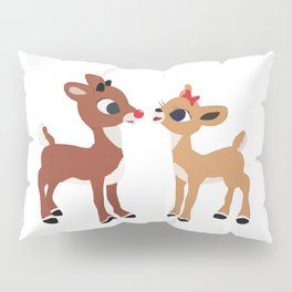 Classic Rudolph and Clarice Pillow Sham