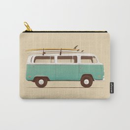 Blue Van Carry-All Pouch