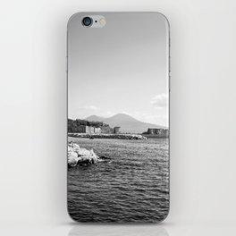 Naples and the Vesuvius iPhone Skin