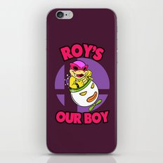 SUPER SMASH BROS: Roy's Our Boy! iPhone & iPod Skin