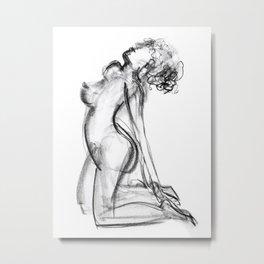 Nude Study 2 Metal Print