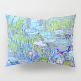Water Lilies monet : Nympheas Pillow Sham
