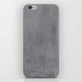 Textured Gray iPhone Skin