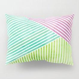Geometric Color Study II Pillow Sham