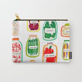 Jars of Fruit & Veg Carry-All Pouch