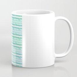 chevron blue&green Coffee Mug