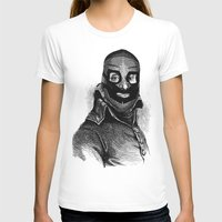 wrestling T-shirts featuring Wrestling mask 3 by DIVIDUS